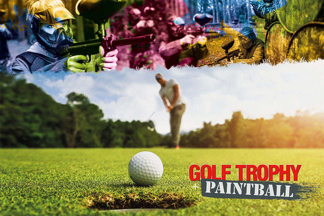 Golf and Paintball